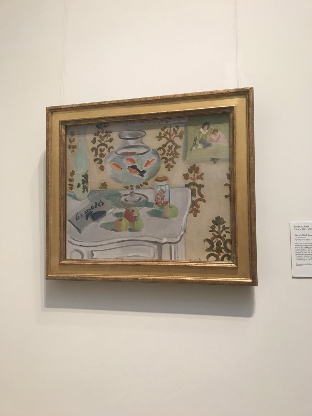 A few of my favorites, this one is Henri Matisse