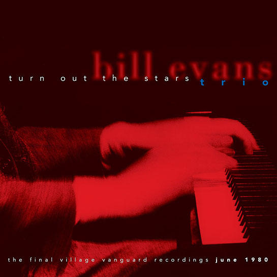 Bill Evans Trio | Turn Out the Stars - Pianist Bill Evans waxed legendary recordings at the Village Vanguard. Three months before his death in 1980, he returned to the venerable club and captured a week-long engagement of performances - this time with his last great trio, bassist Marc Johnson and drummer Joe LaBarbara. TURN OUT THE STARS is a 6-disc box set that finds him revisiting repertoire he examined throughout his career, though now imagined with the heightened inventiveness and wisdom of his life in music.