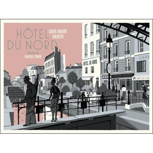 Sérigraphie - Hôtel du Nord