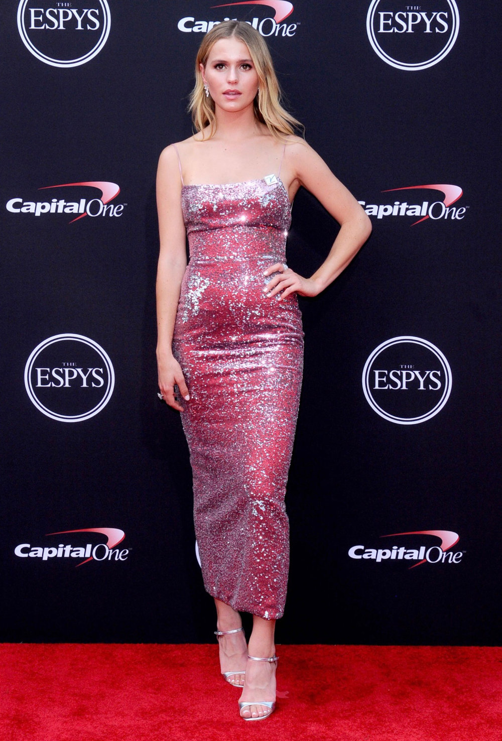 Mallory Edens for 2018 ESPYS / Styled by Natalie Hoselton / Red Carpet