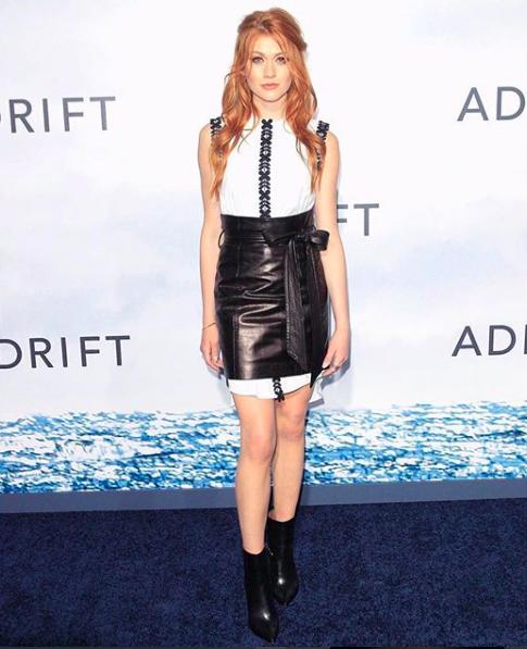 Kat McNamara for Adrift Premiere / Styled by Natalie Hoselton / Red Carpet