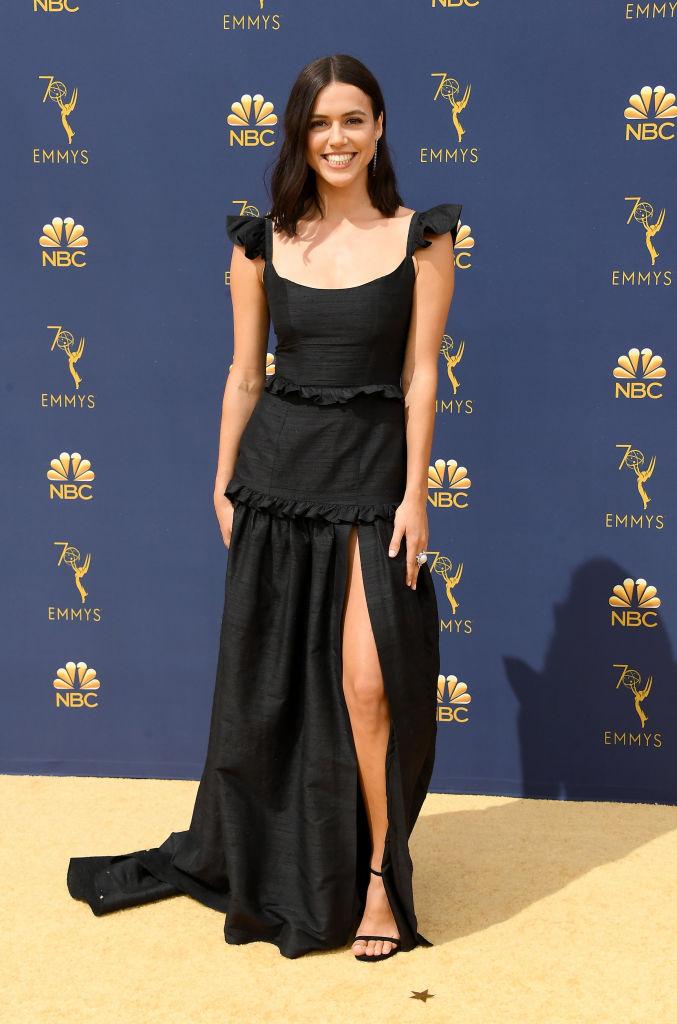 Nina Kiri for 2018 Emmy's / Styled by Natalie Hoselton / Red Carpet/ Vogue's Best Dressed