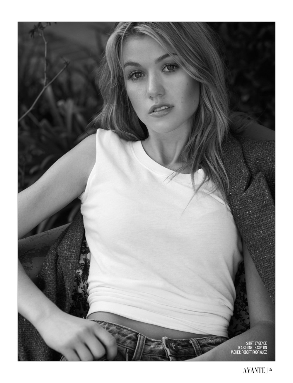 Kat McNamara for Avante Magazine December Issue 2018