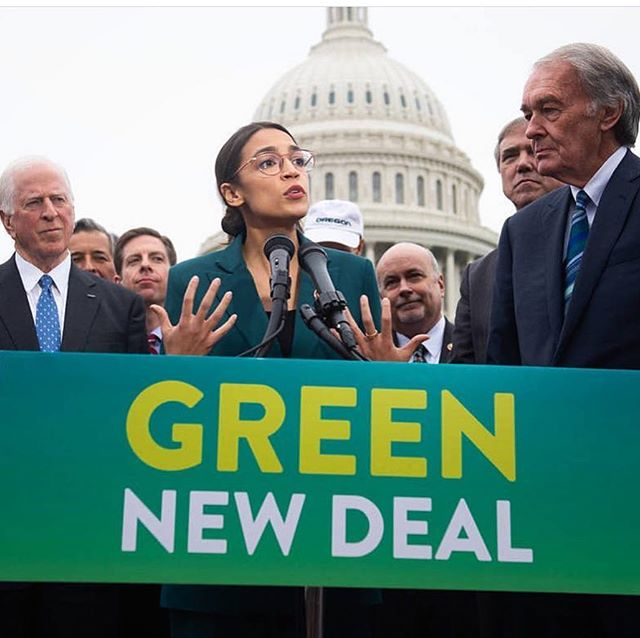 This is phenomenal- a huge step forward for our communities, our nation, the environment and our futures. Coming together for a #greennewdeal with its integrity and scope of solutions will be an amazing experience of our generation. I am beyond excited that this is a top issue in our government- that the economic, social and cultural aspects are being address and that such astounding leaders are bringing this honorably and powerfully into existence. 🌿 #grateful #cleanenergy #nofossilfuels #environmentaljustice #globalleaders #future #renewables #economics #cleanair #cleanwater #cleanland #climatechange #action
