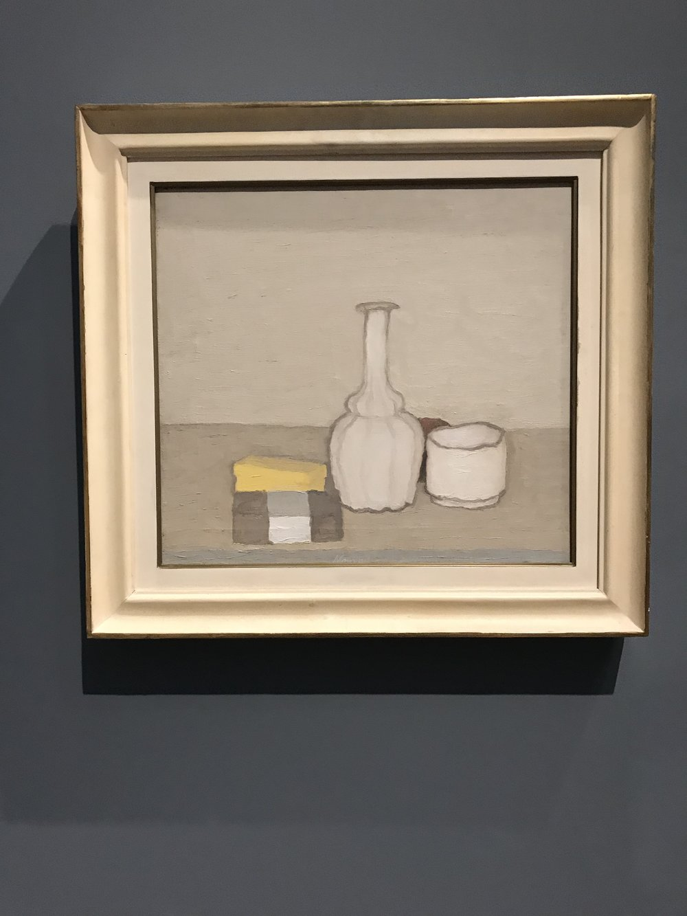 "Georgia Morandi's ""Still Life with a Bottle"""