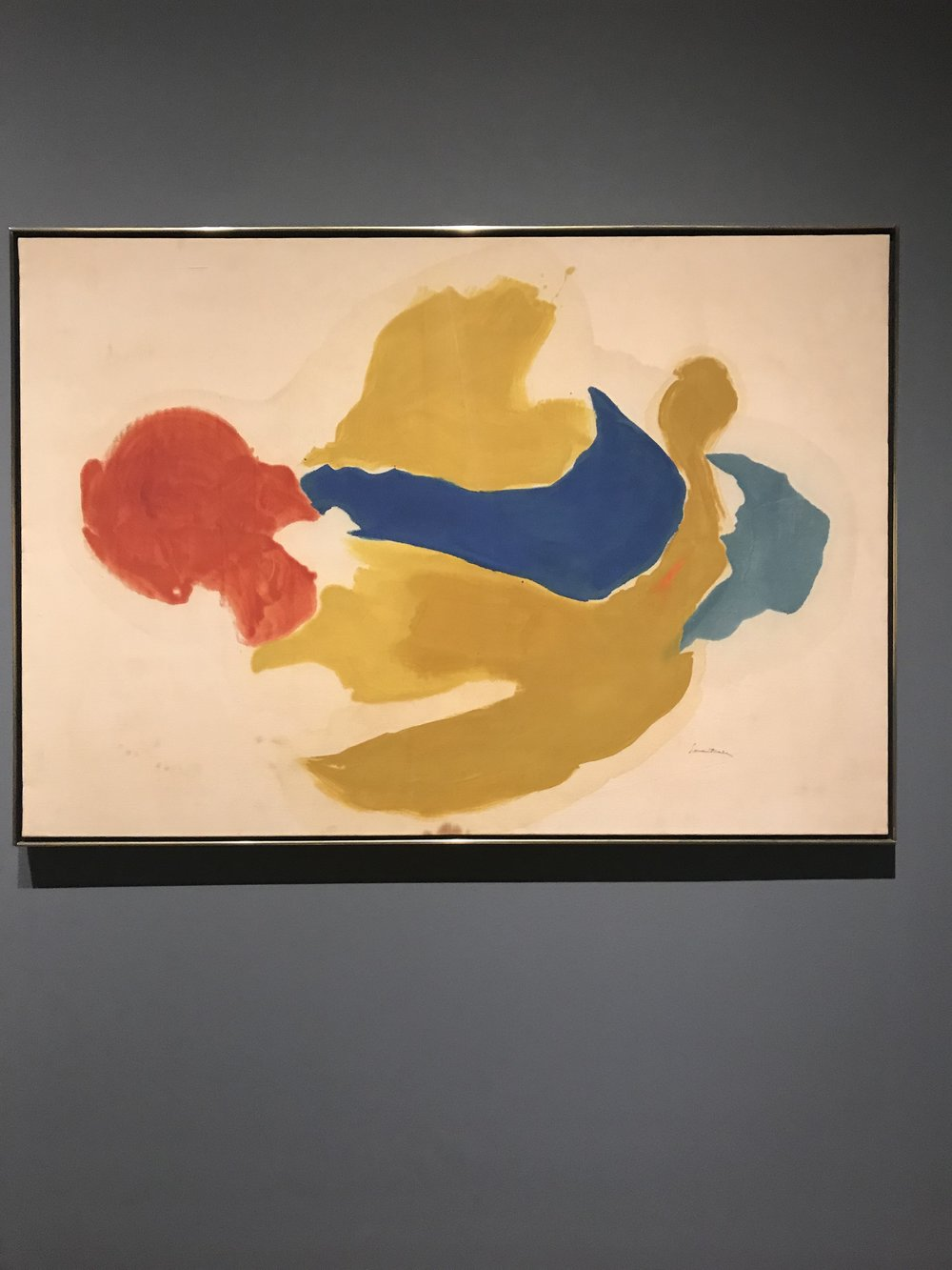 "Helen Frankenthaler, ""Blue Jay"""