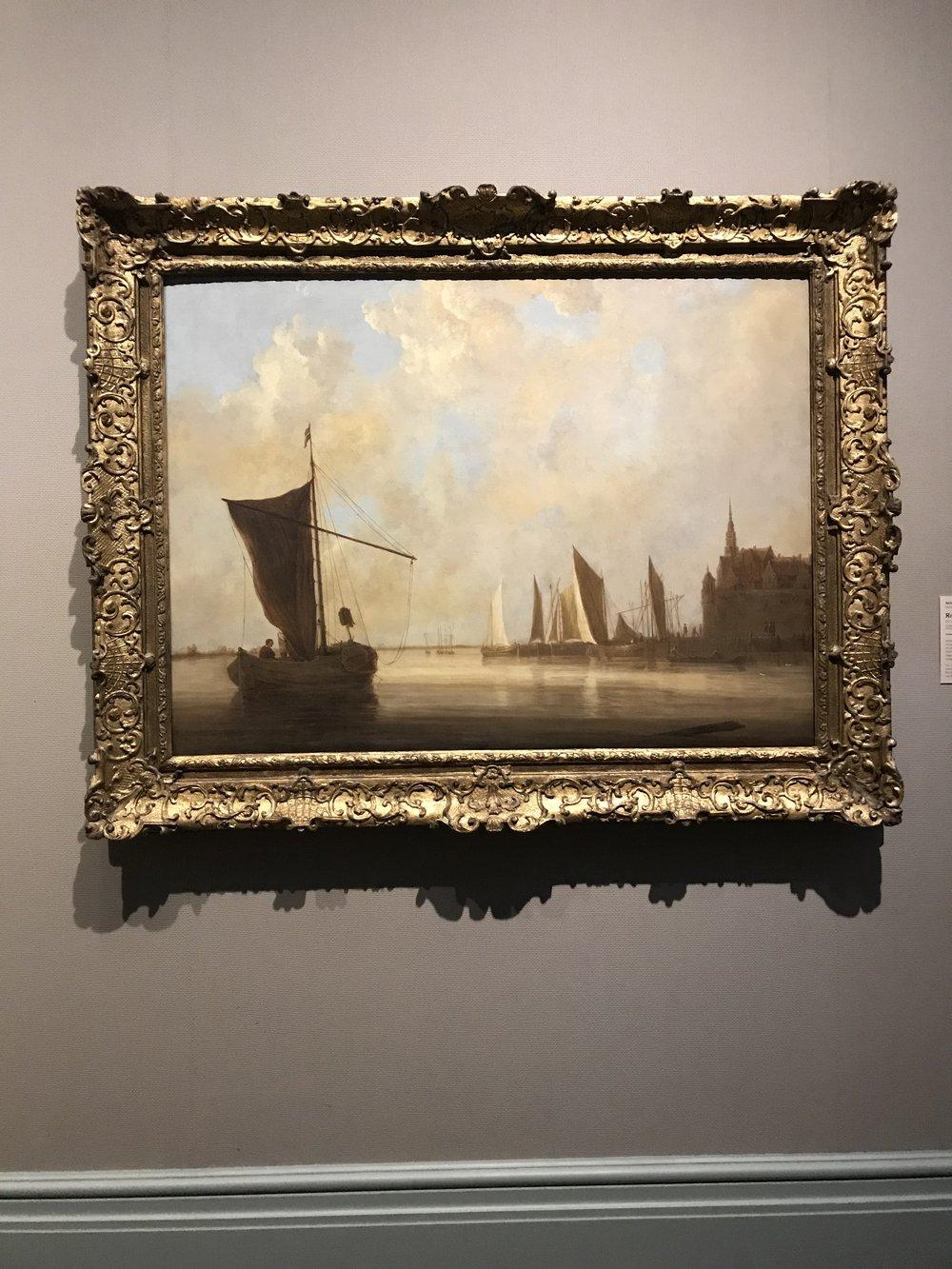 """Aelbert Cuyp, """"River Scene at Dordrecht"""""""