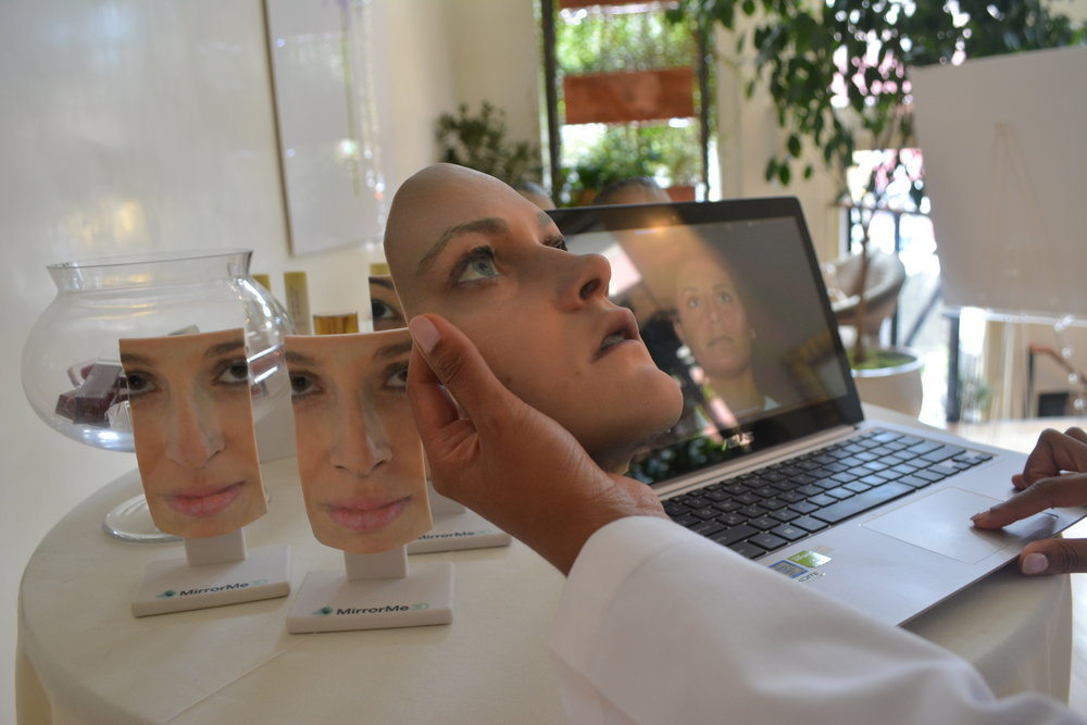 3D FULL FACE MODELS:   Full face models also help surgeons plan for surgery with applications to orthognathic, reconstructive, and cosmetic procedures.