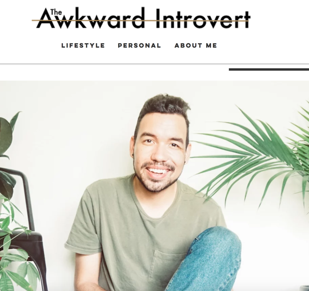 the awkward introvert -