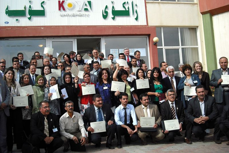 Leadership Development - One of the greatest needs in the Kurdish region of Iraq today is for professional management and leadership training. Global Hope has received invitations to teach members of Parliament, the Chamber of Commerce, university leaders, and women's advocacy agencies and students. The Freedom Center Leadership Institute is our response to train leaders and decision-makers of the region.