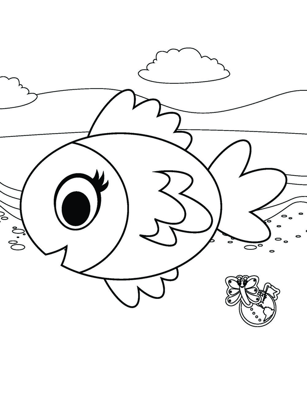Mirabelle the Fish
