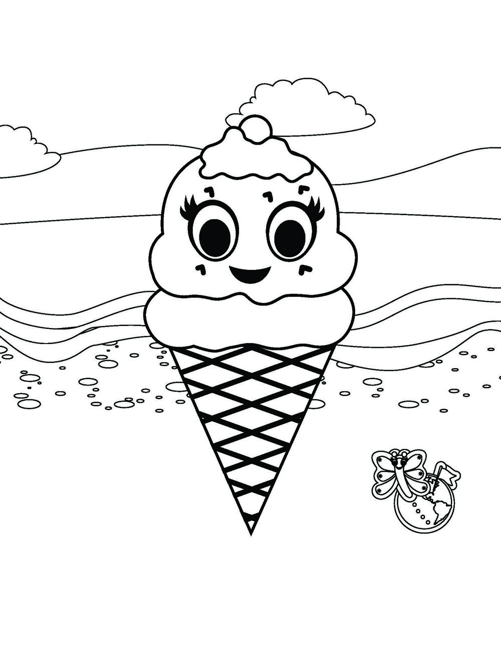 Edie the Ice Cream Cone