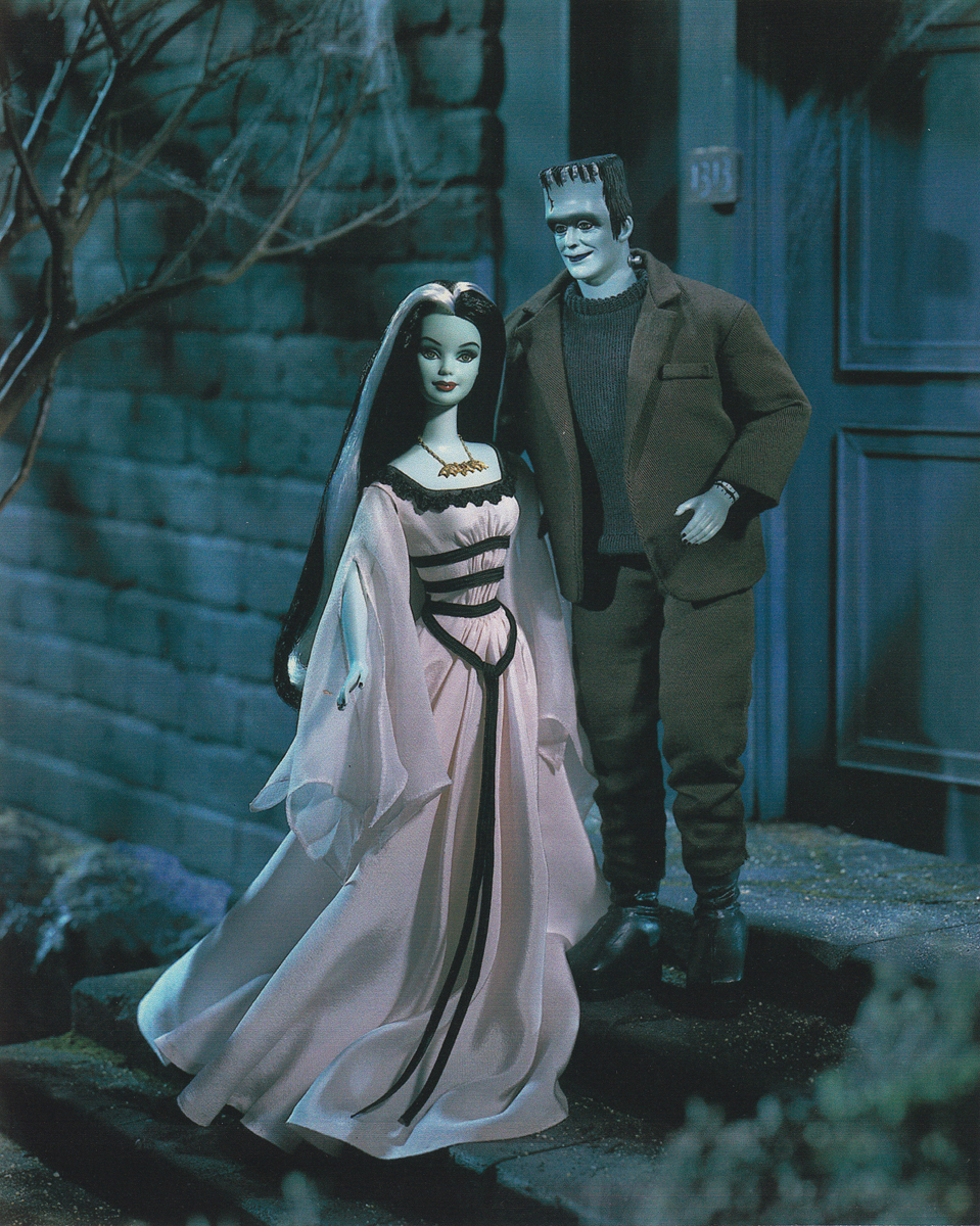 The Munsters Barbie & Ken Giftset - Barbie Doll