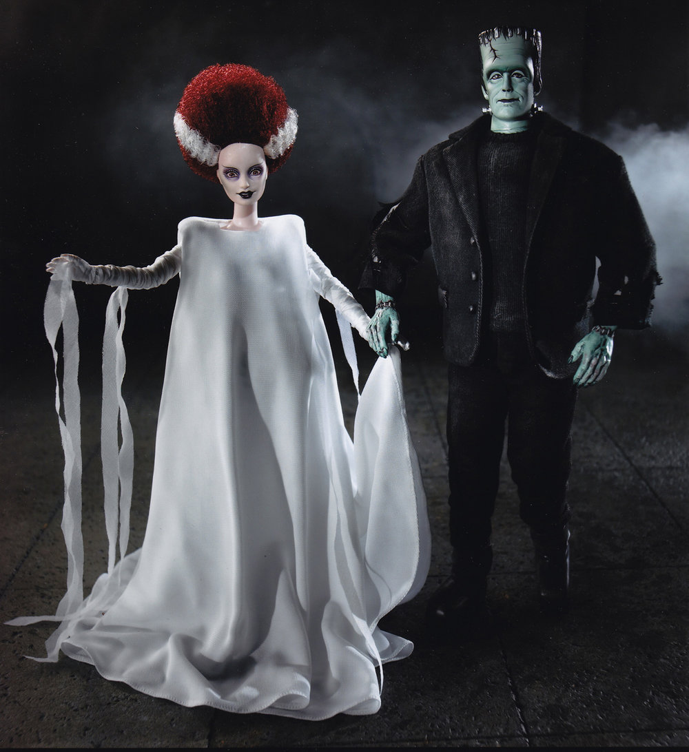 Bride of Frankenstein One-of-a-Kind Barbie Doll