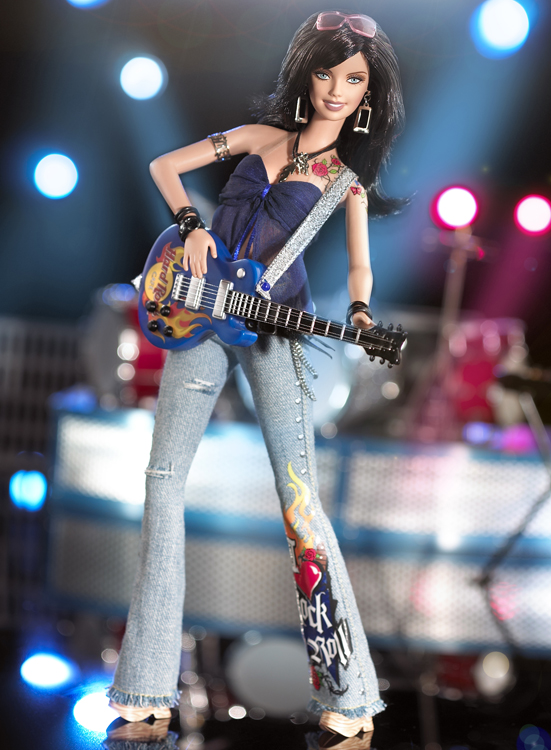 Hard Rock Cafe Barbie Doll #3