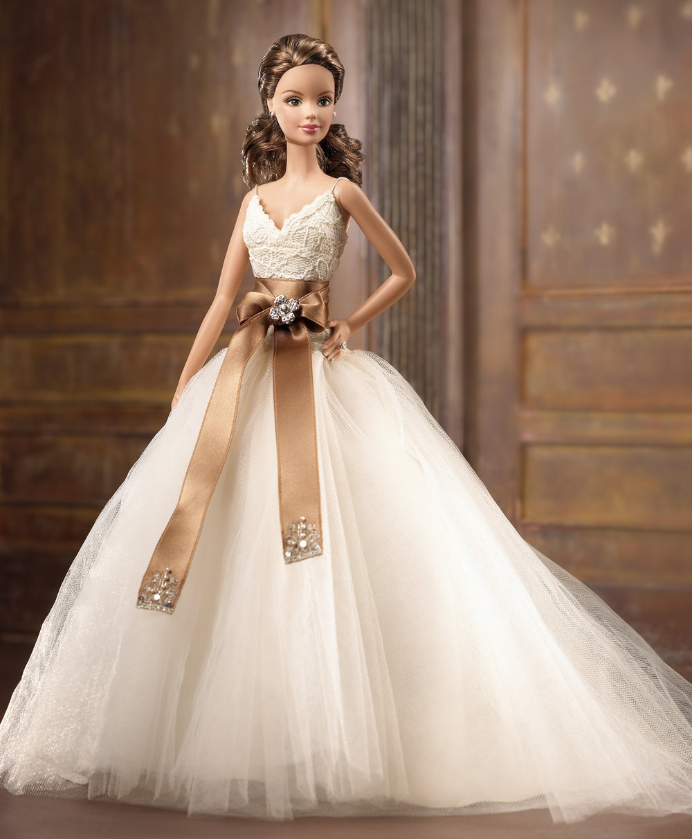 Monique Lhuillier Barbie Doll