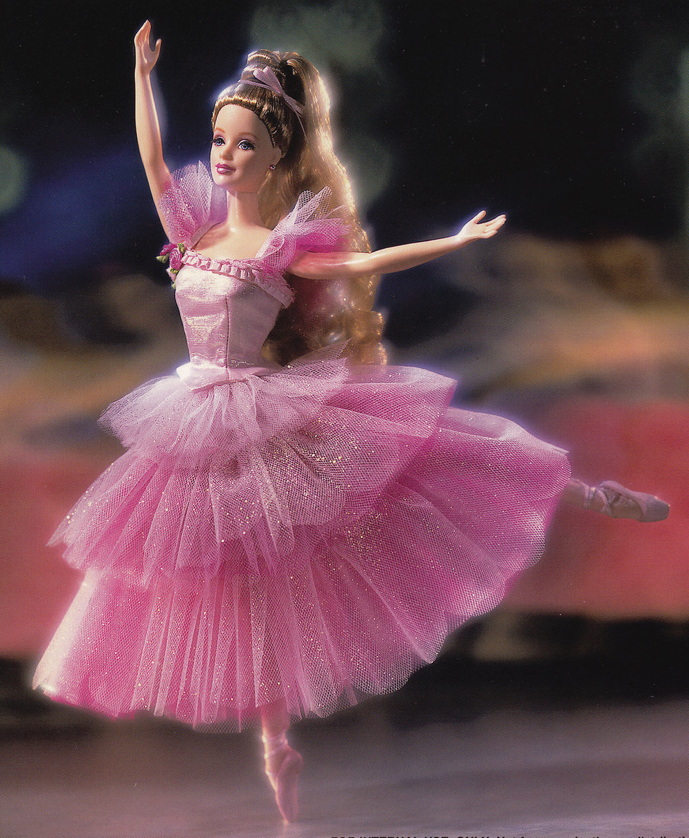 Barbie Doll as the Flower in the Nutcracker