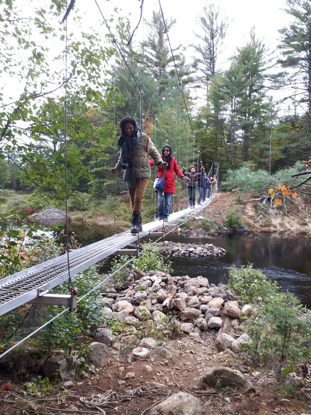 Building New Bridges to Prosperity through Algonquin Eco-system services