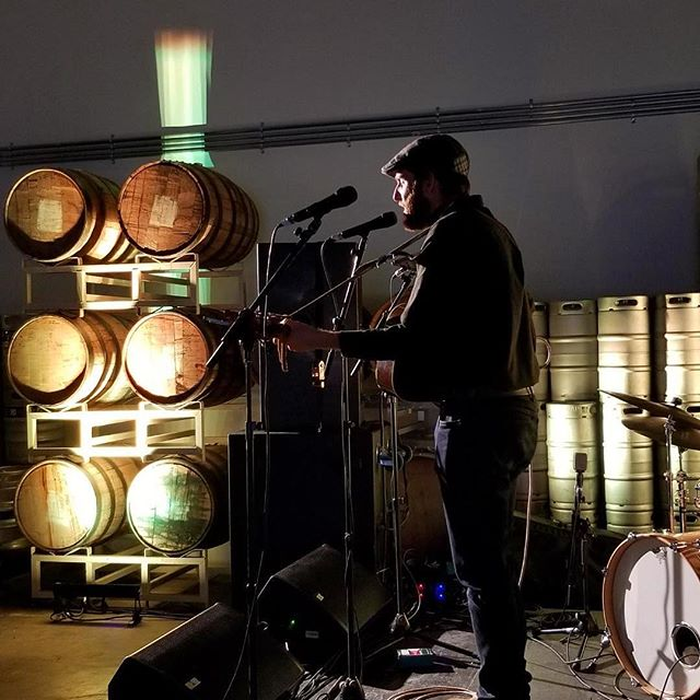 The folks at @ironroadbrewing really know how to throw a party. Had a blast last night, glad I could be a part of the celebration! #community #brewery #livemusic #kamloops #kamloopsmusic