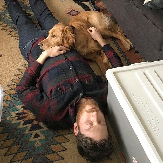 Family day with an Oaka. #puppynap #familyday