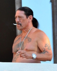 I used this picture of actor Danny Trejo for the character Raimundo