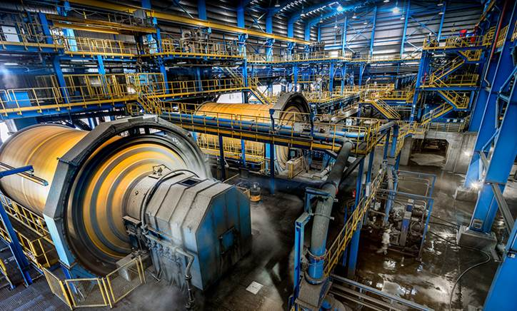 Copper mill