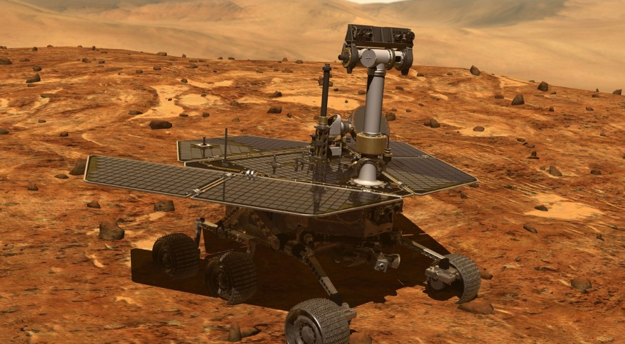 """NASA's  Opportunity,  Jan. 2004 - Feb. 2019, the rover that was built to last 90 days and survived 15 years. Science reporter Jacob Margolis poetically rendered the rover's last transmission as """"My battery is low and it's getting dark,"""" which has got to be one of the saddest things I've ever heard. You can read the true story behind this at:  https://www.newsweek.com/nasa-mars-opportunity-rover-new-york-daily-news-jet-propulsion-laboratory-1334615"""