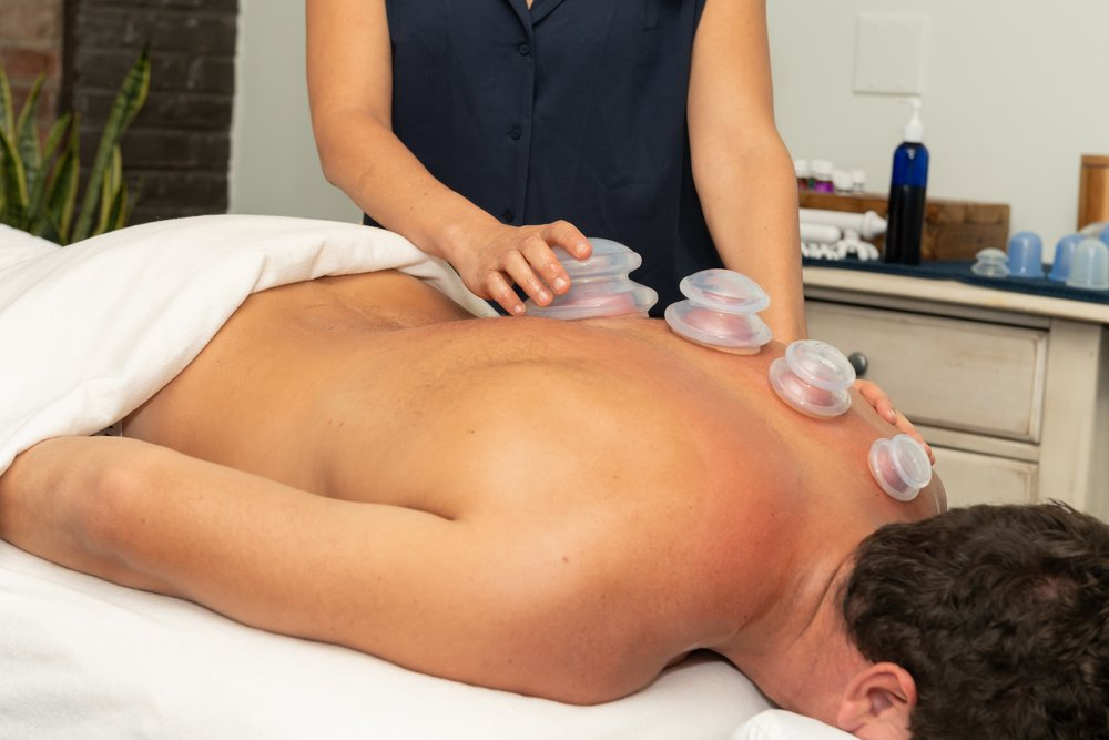 massage cupping manual therapy