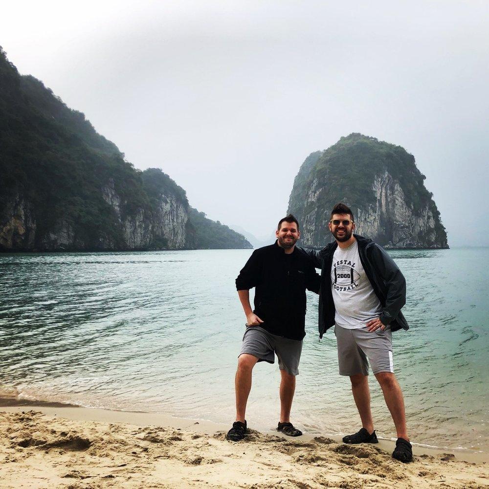 Dave and Brian Halong Bay.jpg