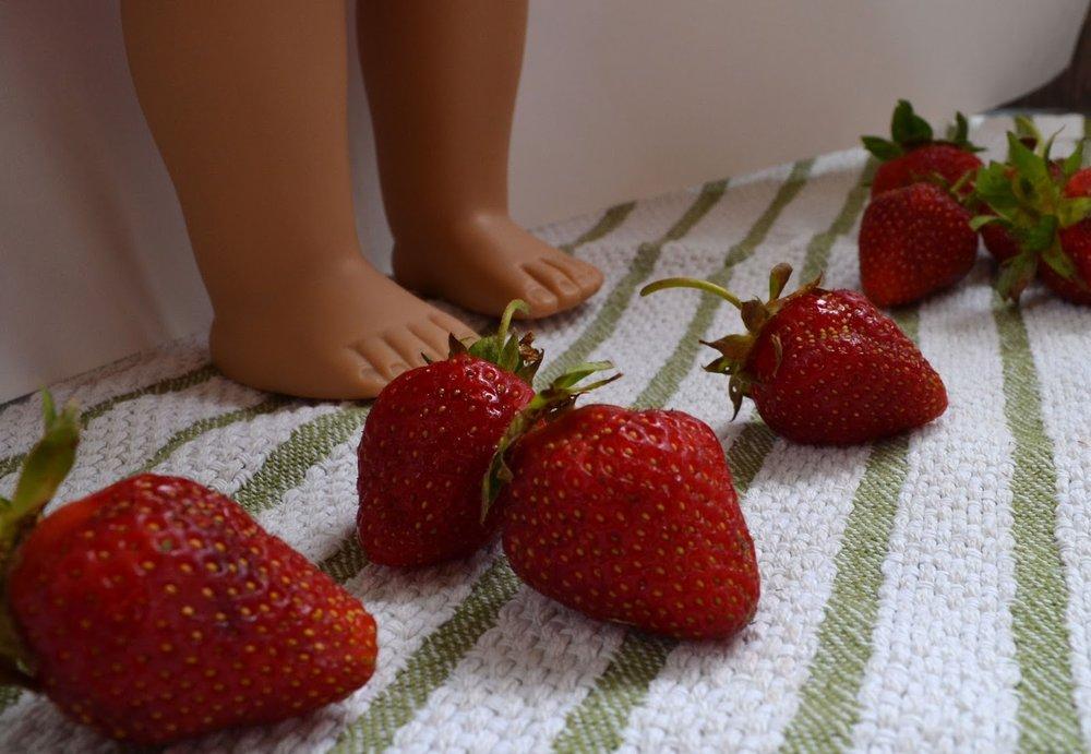 Strawberry Shortcake Doll Dress Pacountrycrafts