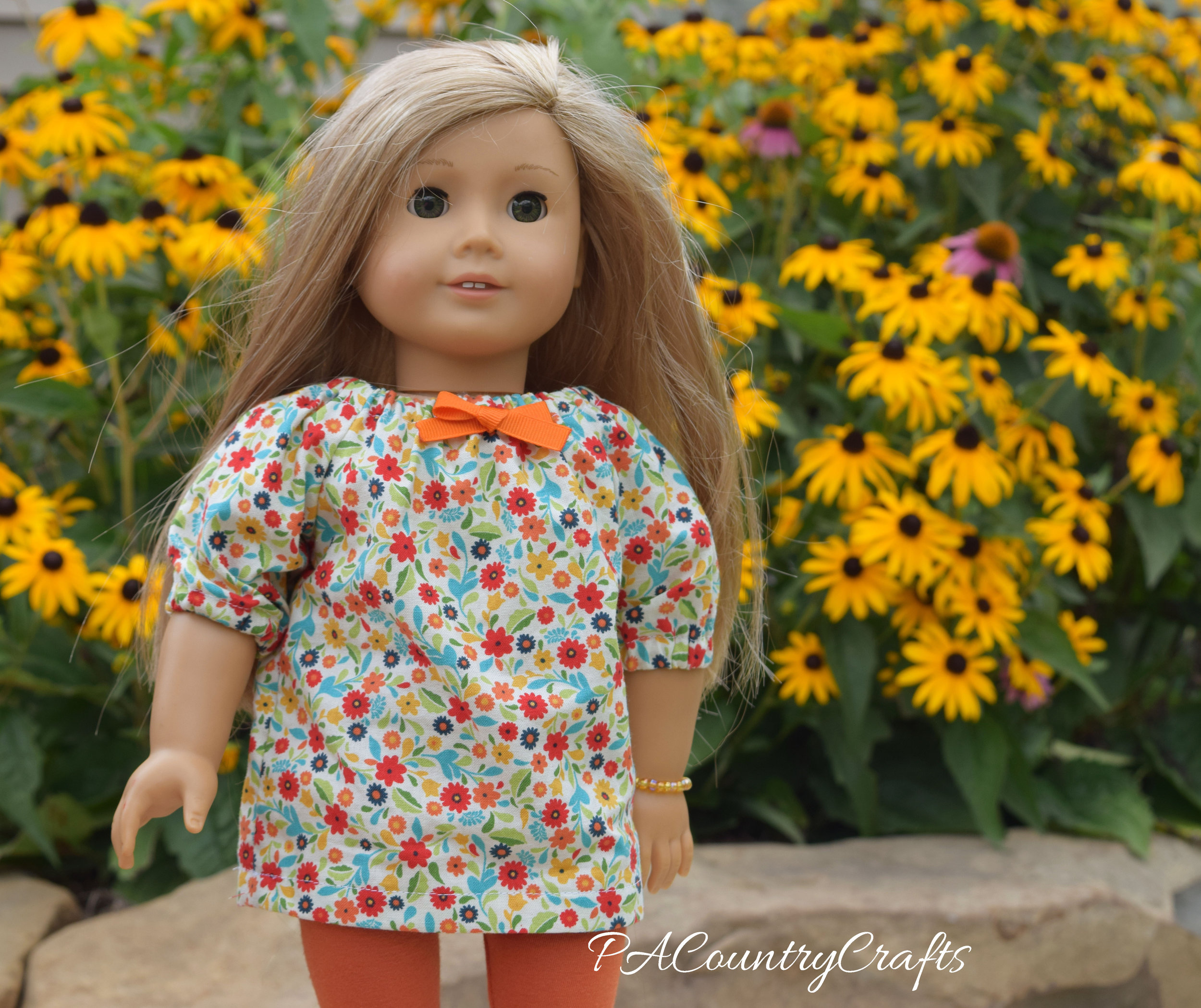 Doll Peasant Top and Leggings