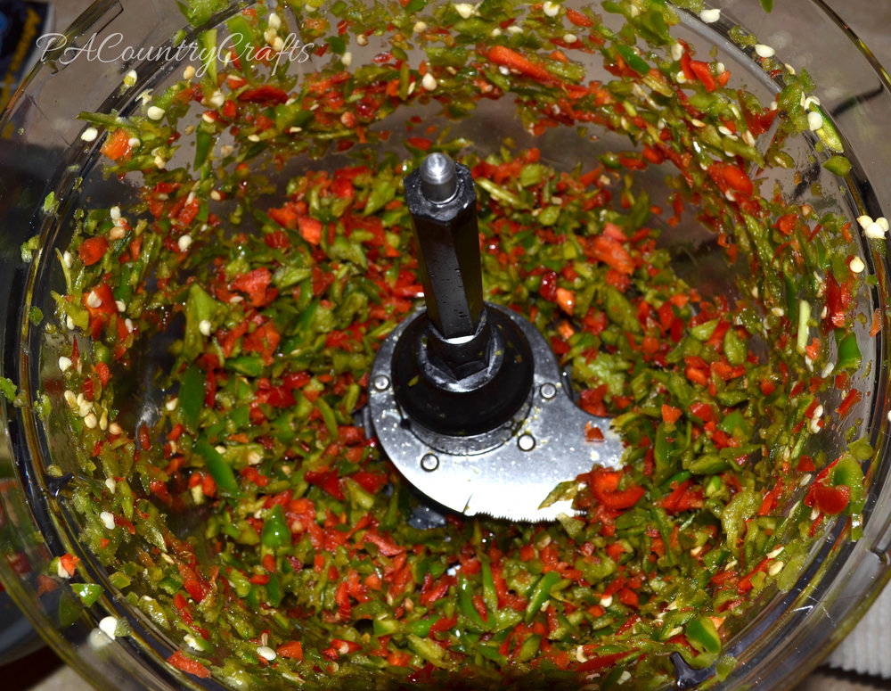 chopped pepper mix