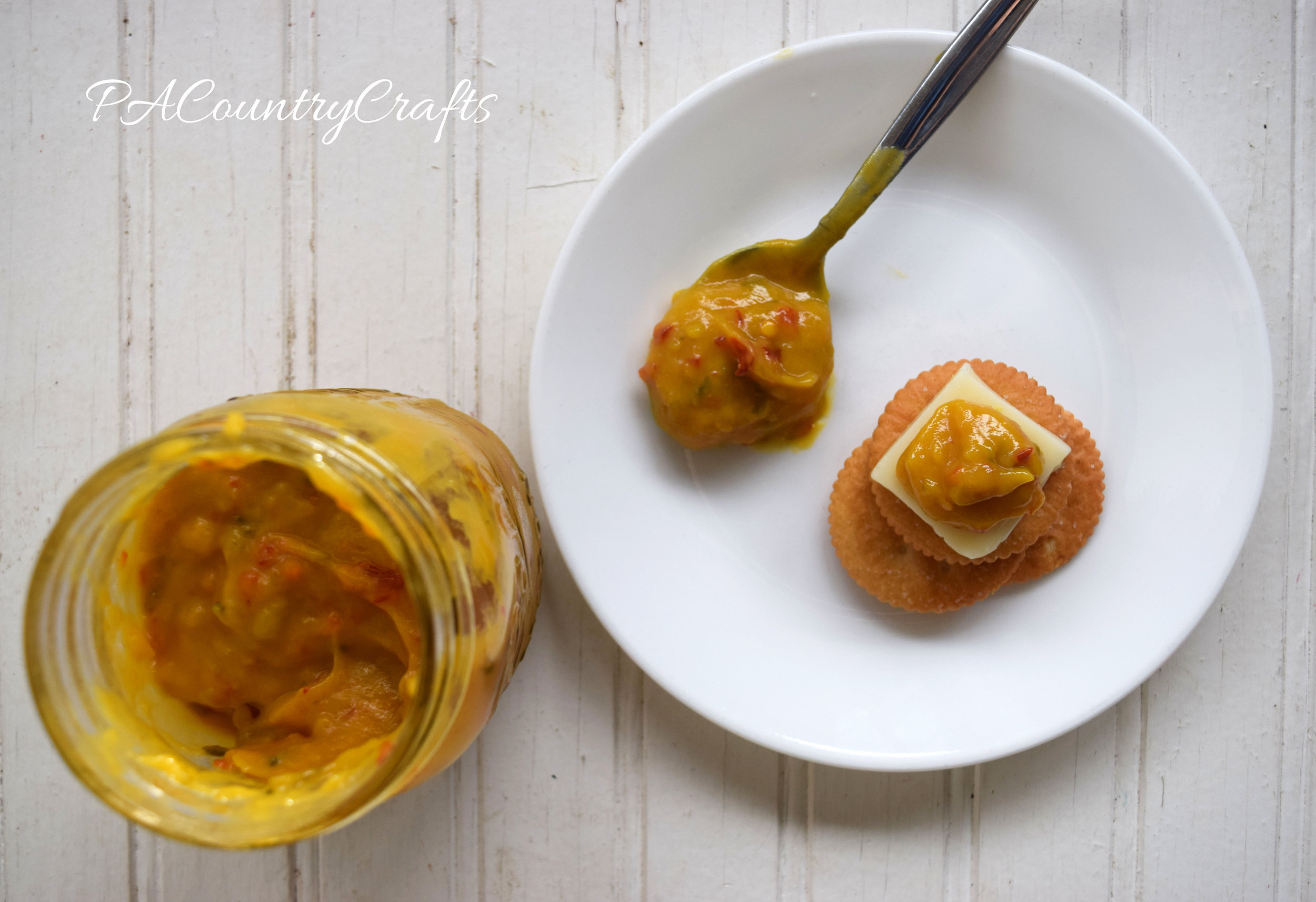 Hot Mustard Recipe- perfect for cheese and crackers!