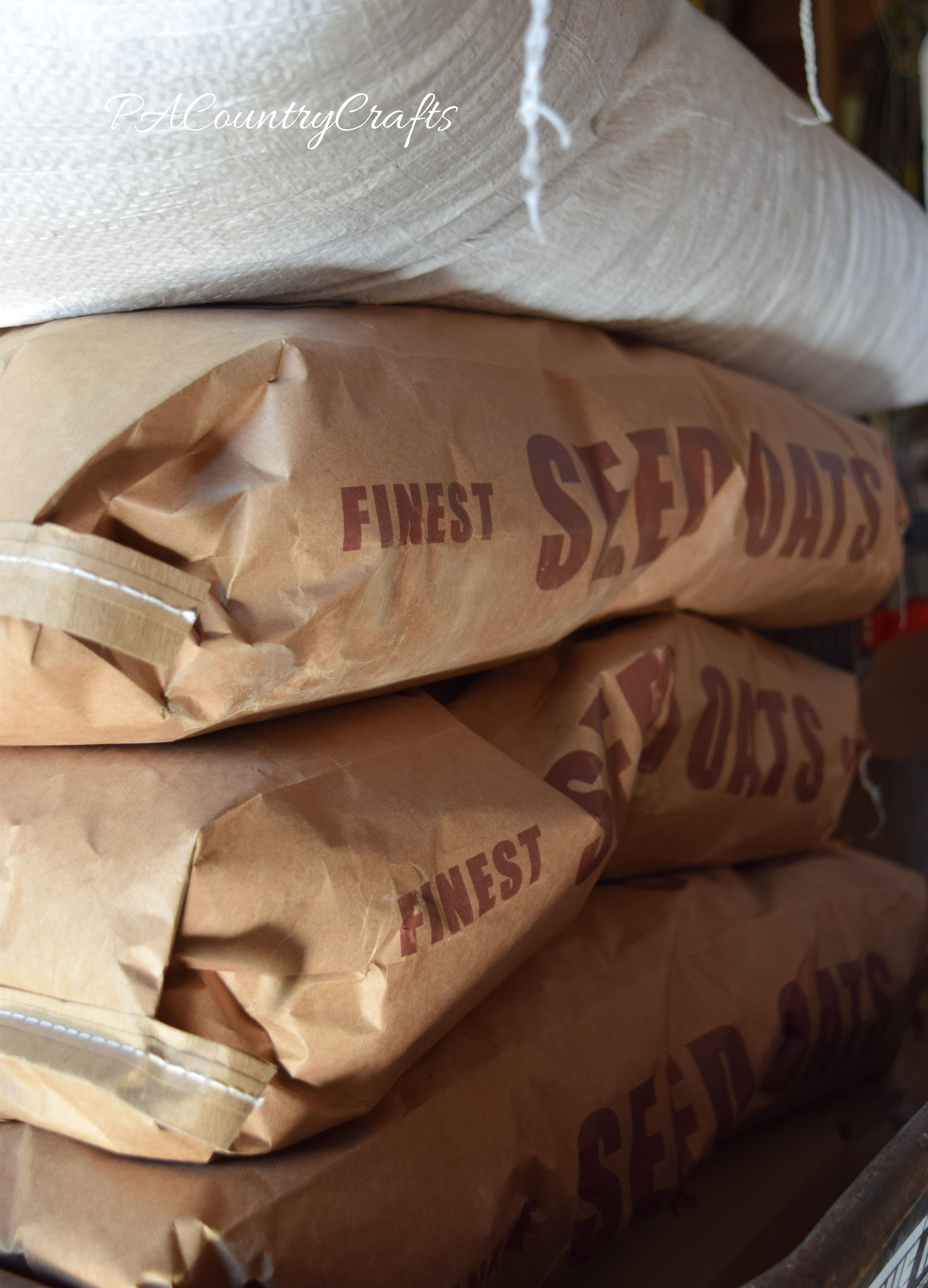 bags of seeds