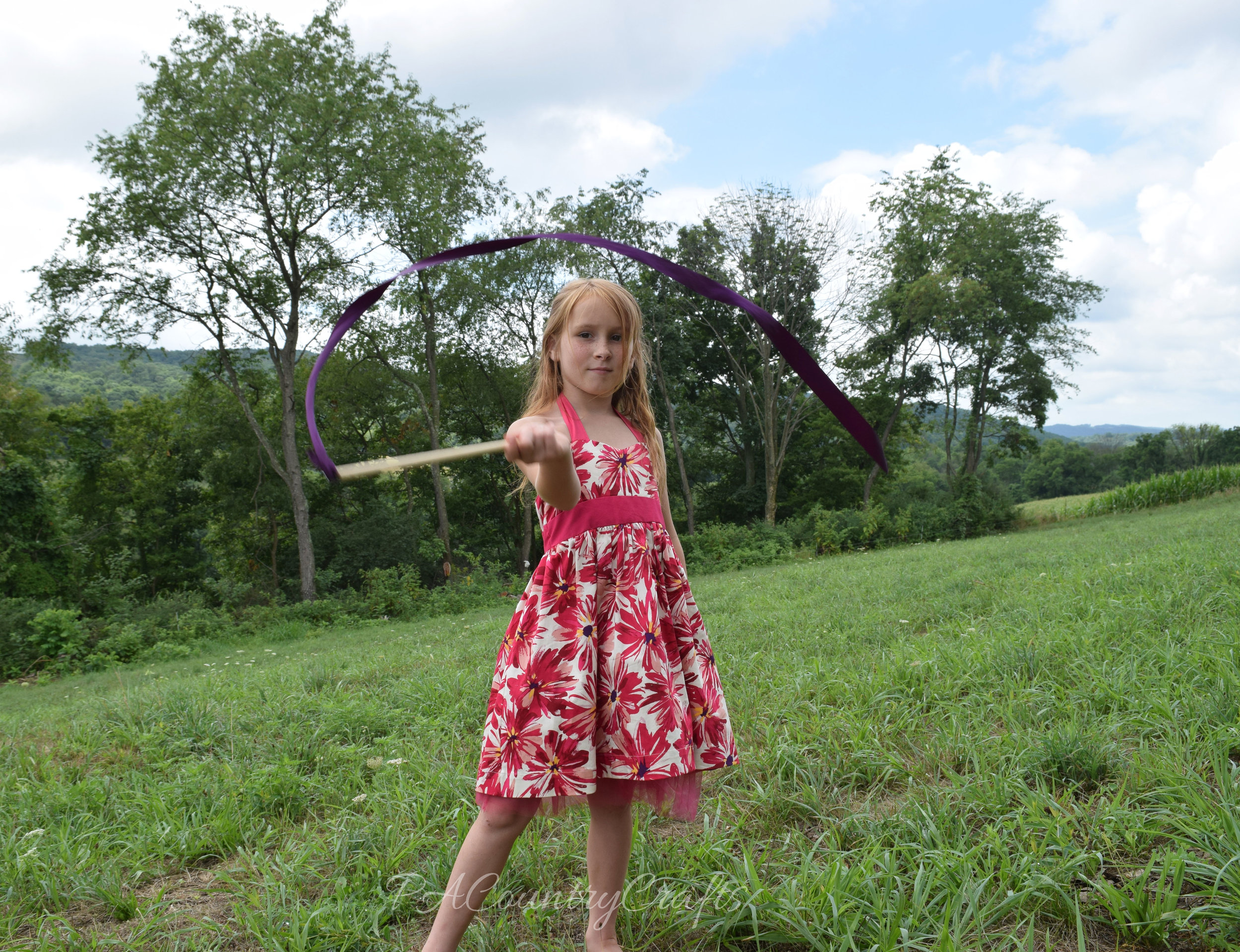 Fun and easy ribbon wand kids craft project