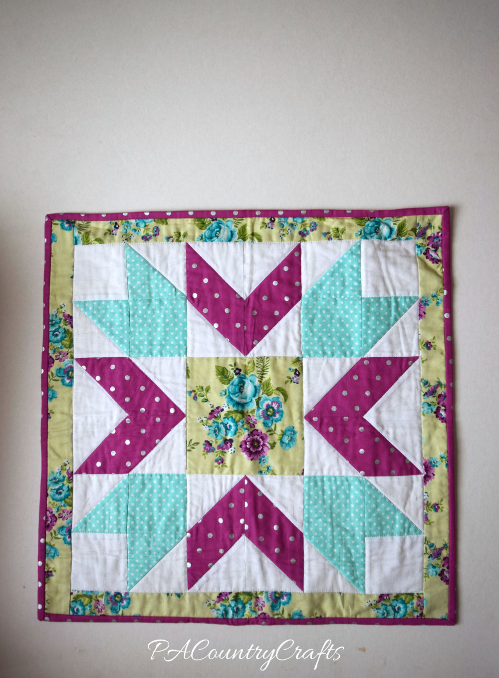 Star Doll Quilt Pattern