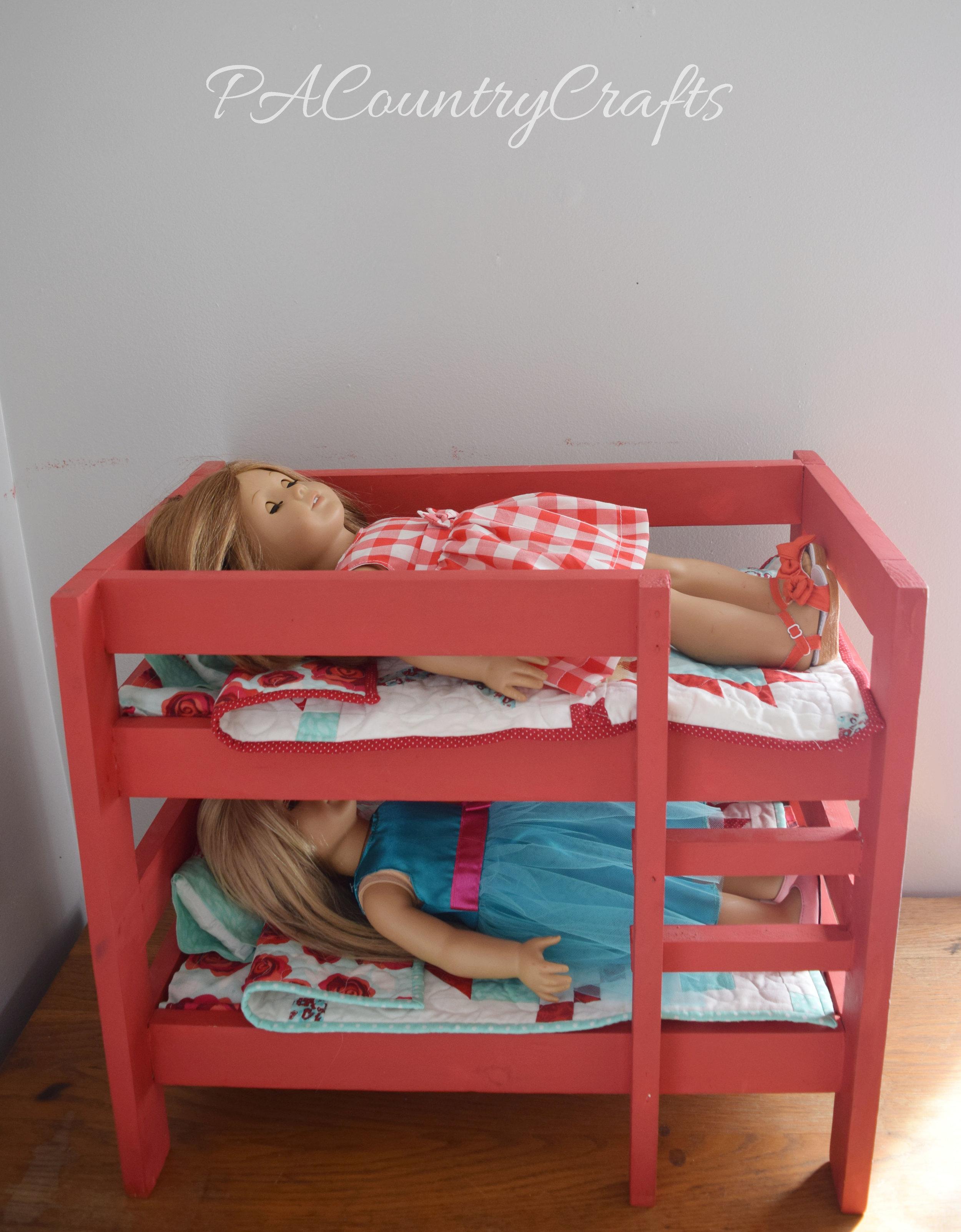 Diy Doll Bunk Beds Pacountrycrafts