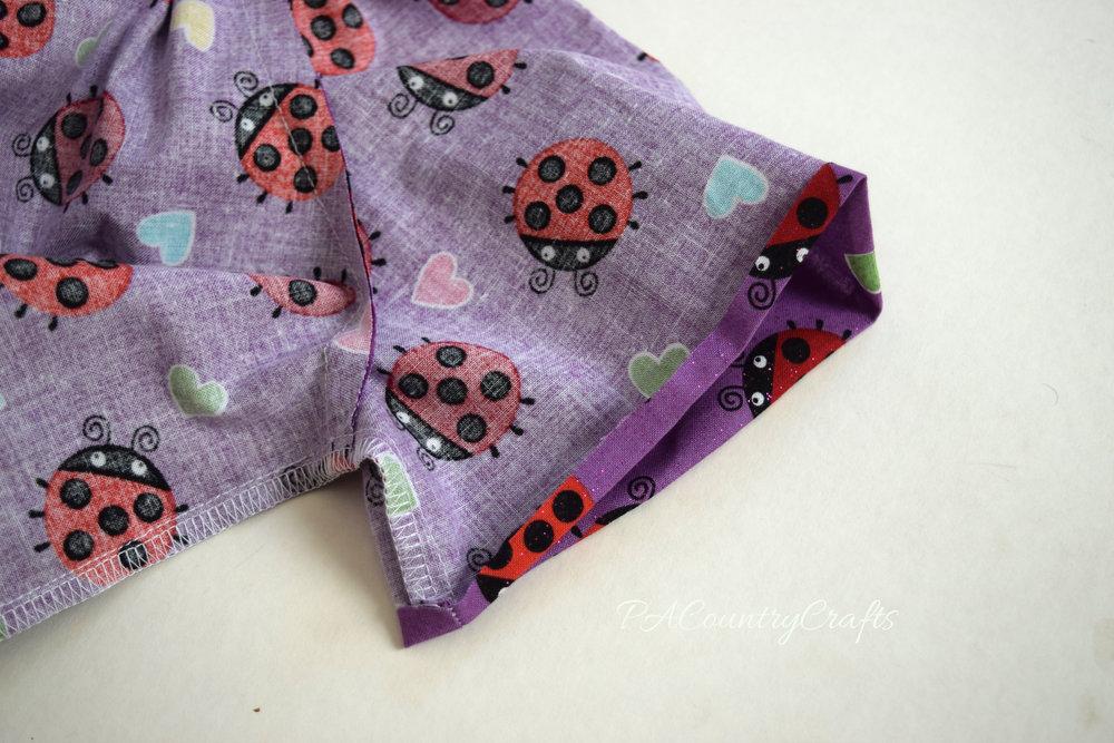how to make elastic casings for sleeve hems