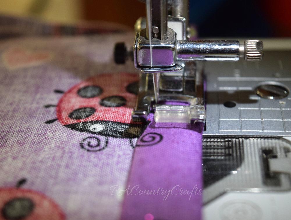 sewing elastic casing