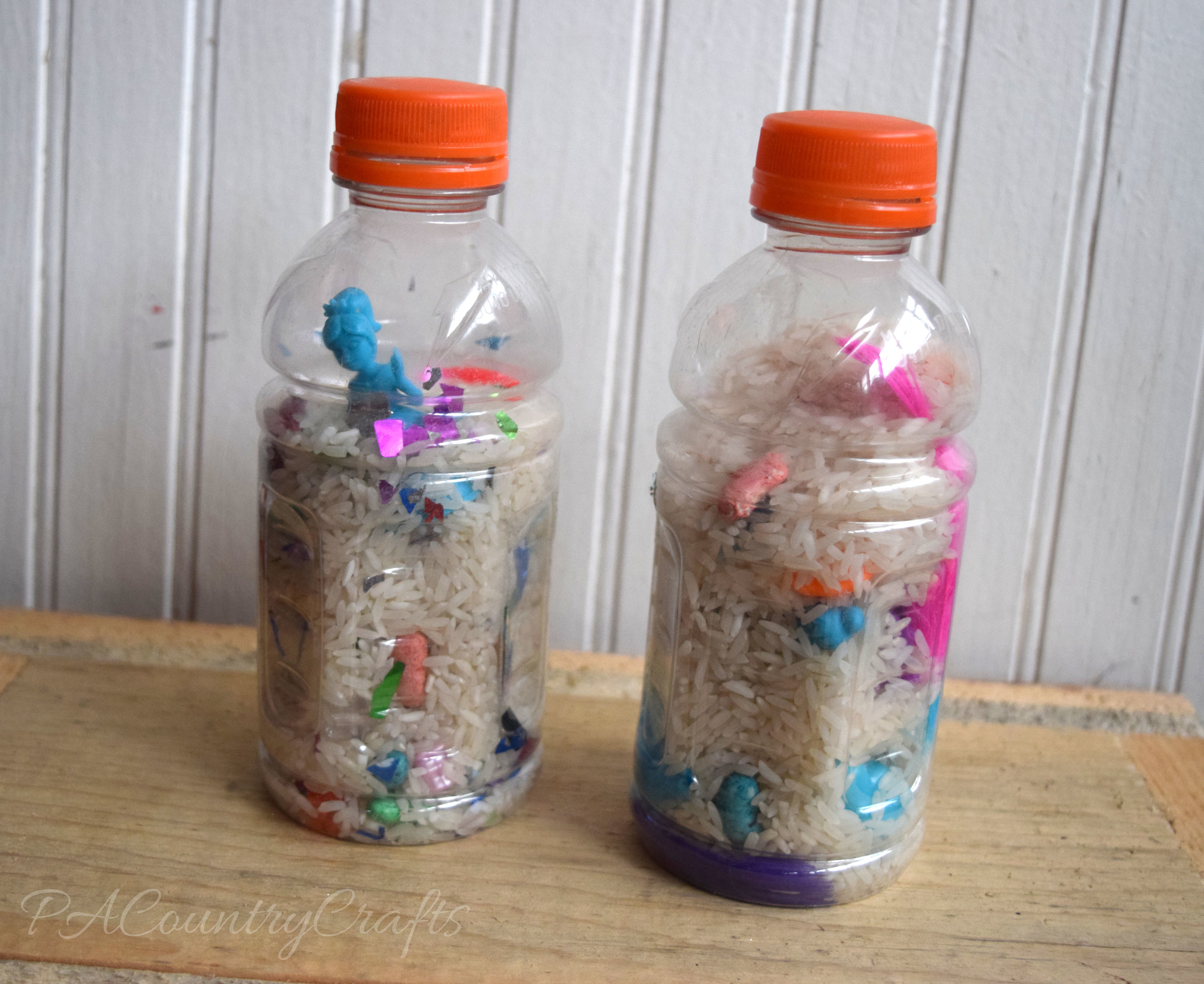 I-Spy Bottles MOPS craft