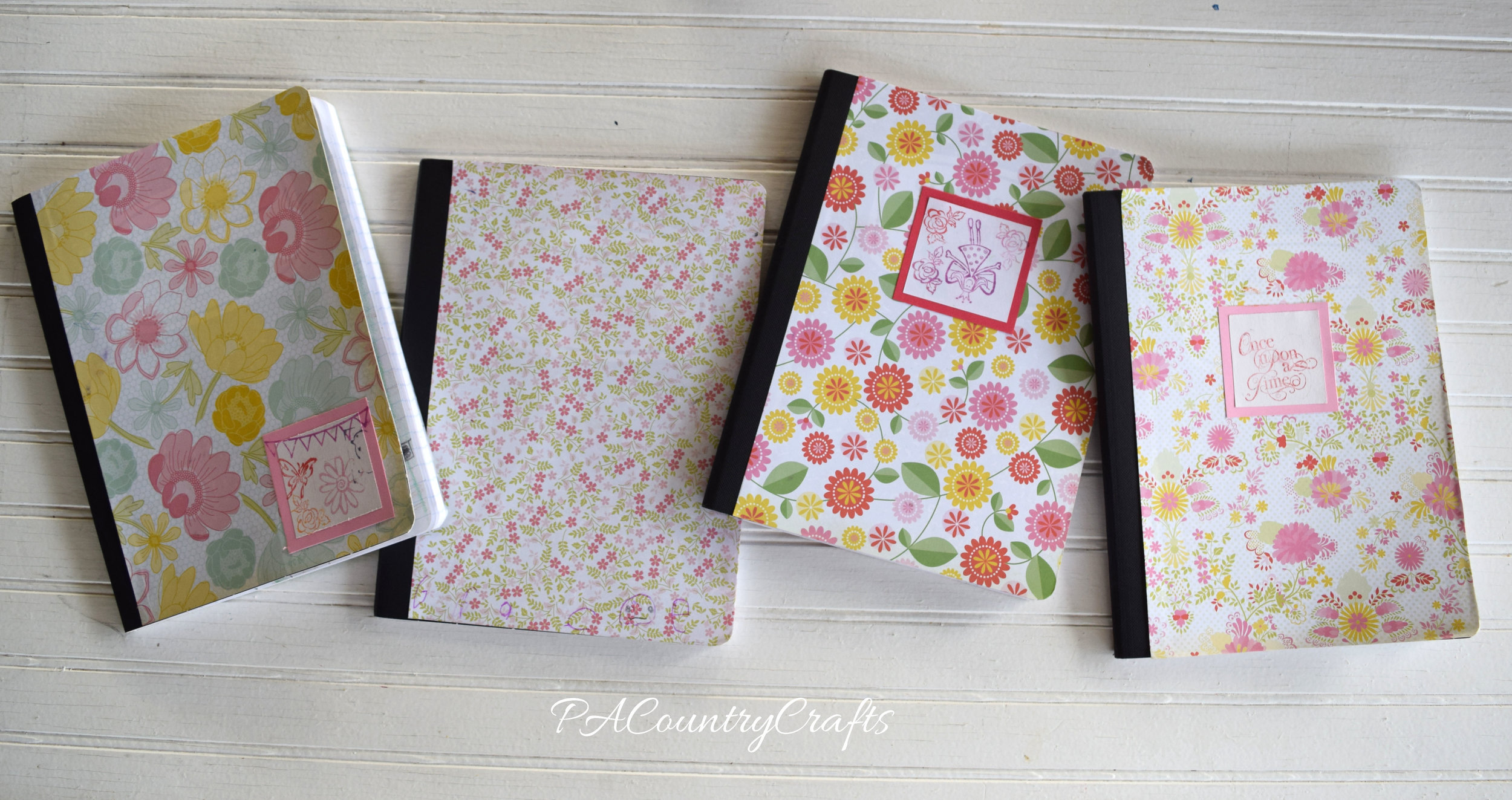 Kids craft journals