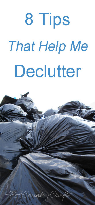 8 tips that help me to declutter!