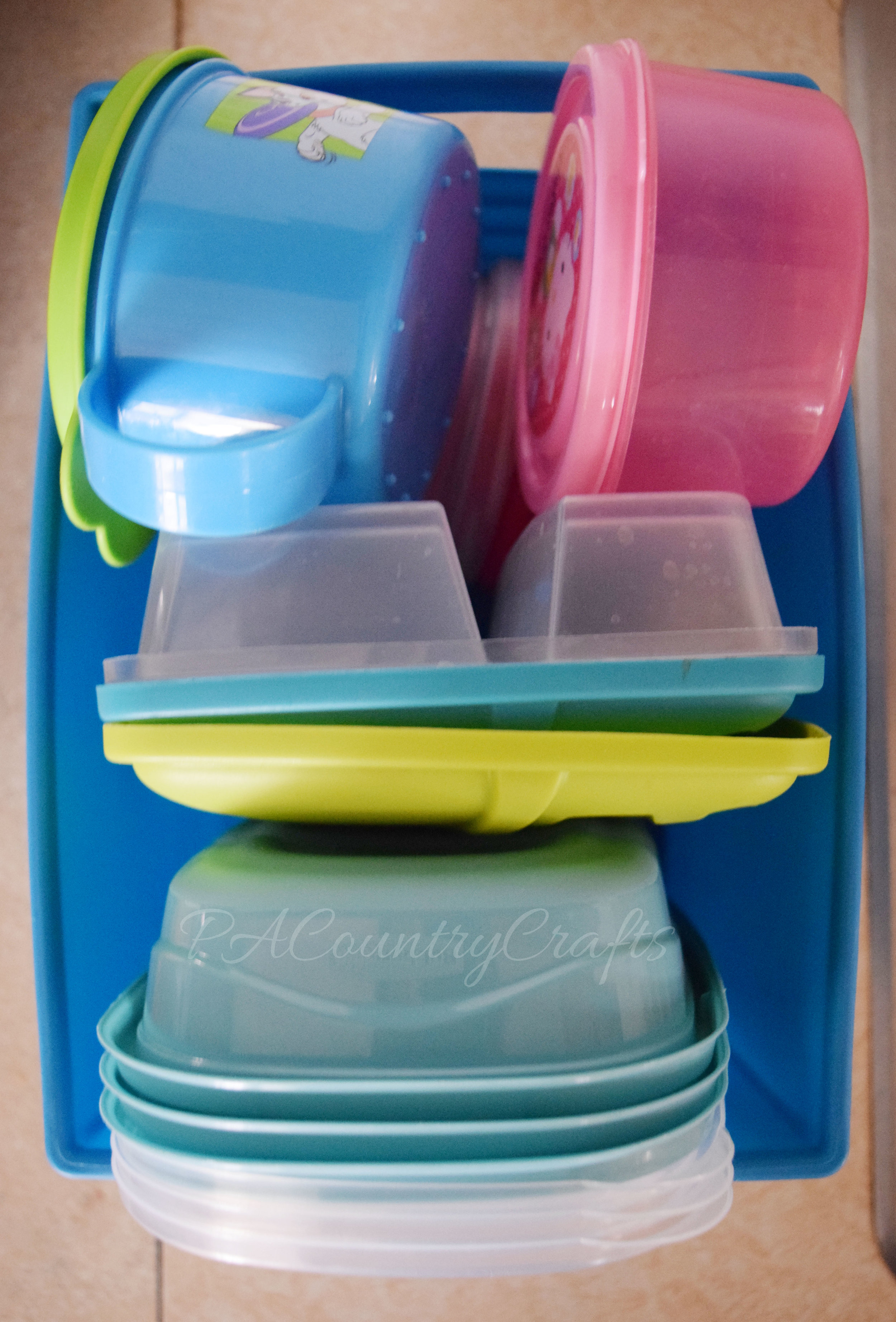 lunchbox container organization