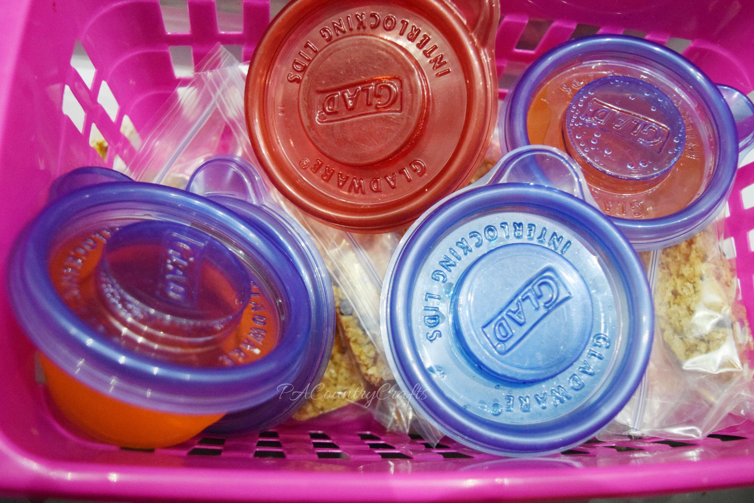 homemade lunchbox snacks