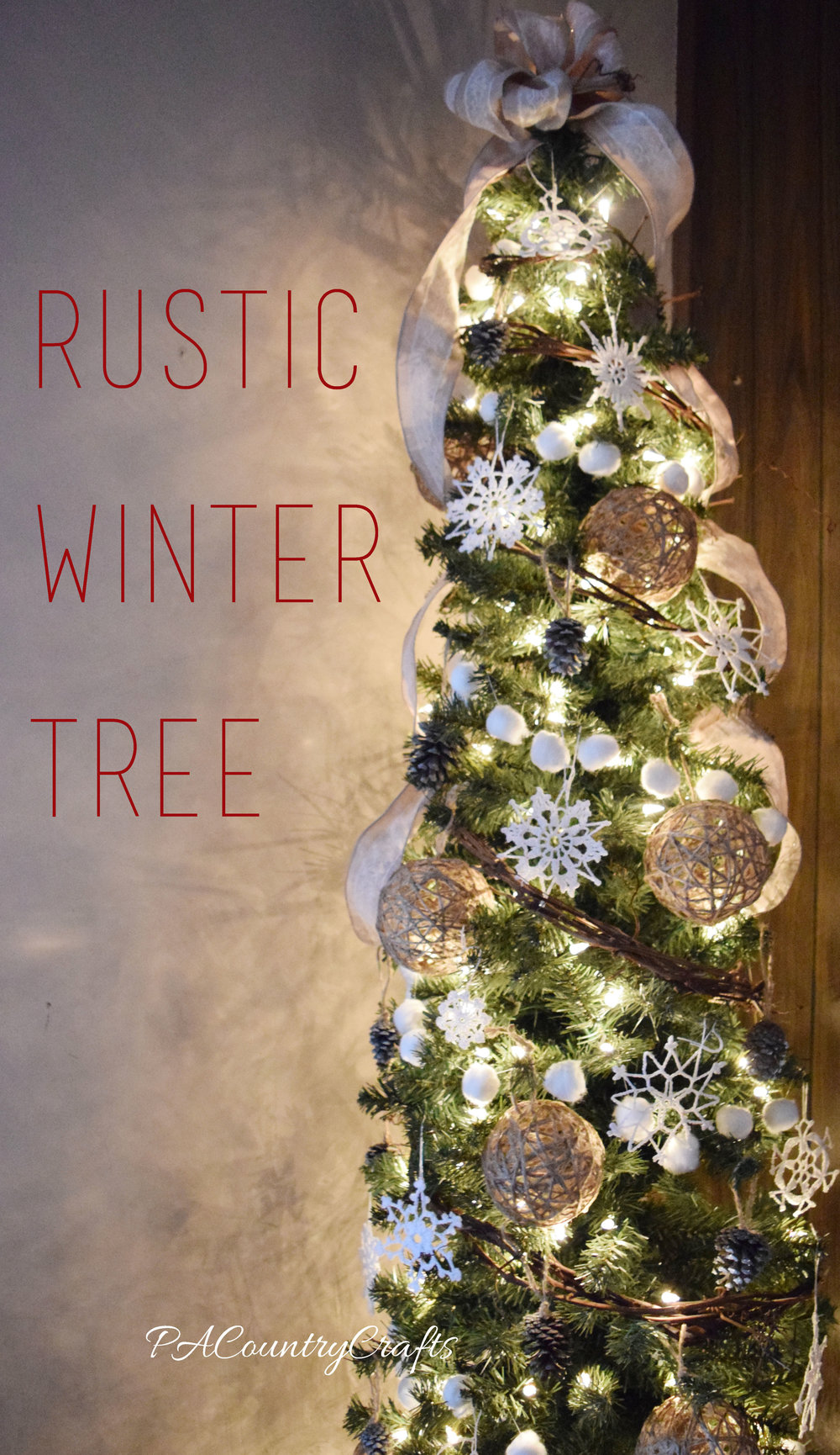 Rustic Winter Tree
