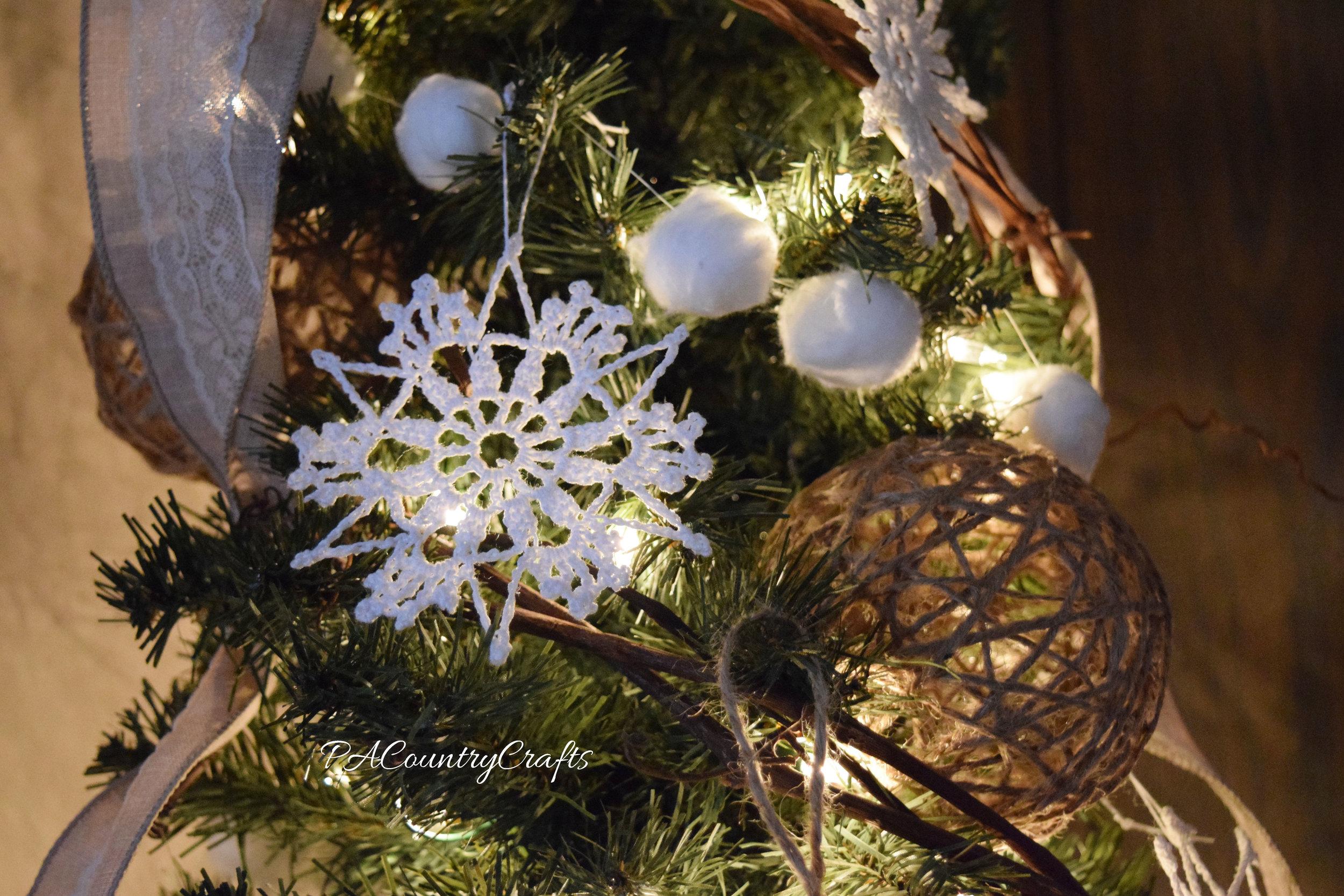winter woodland theme tree decor