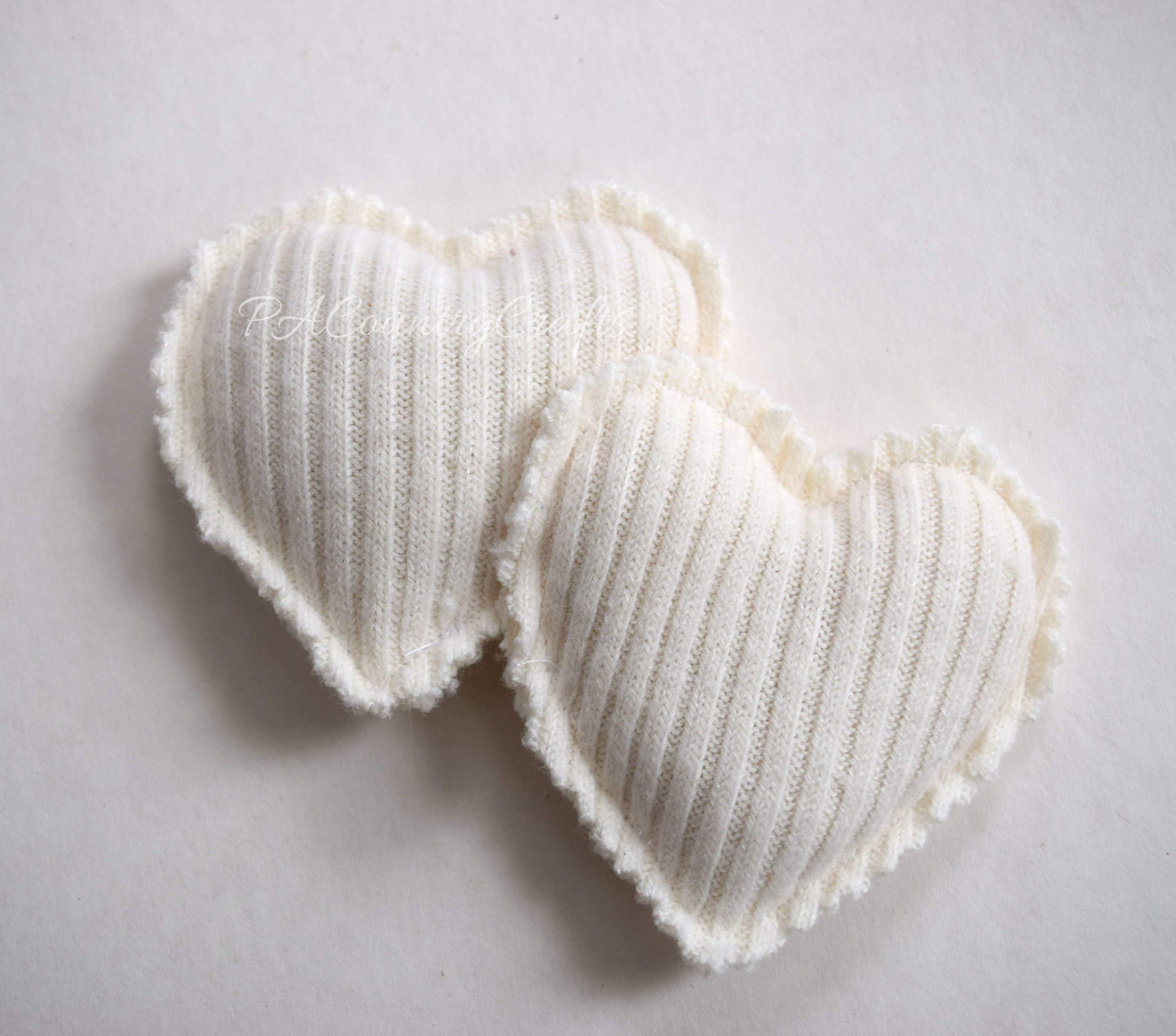 DIY hand warmers made from old sweater scraps