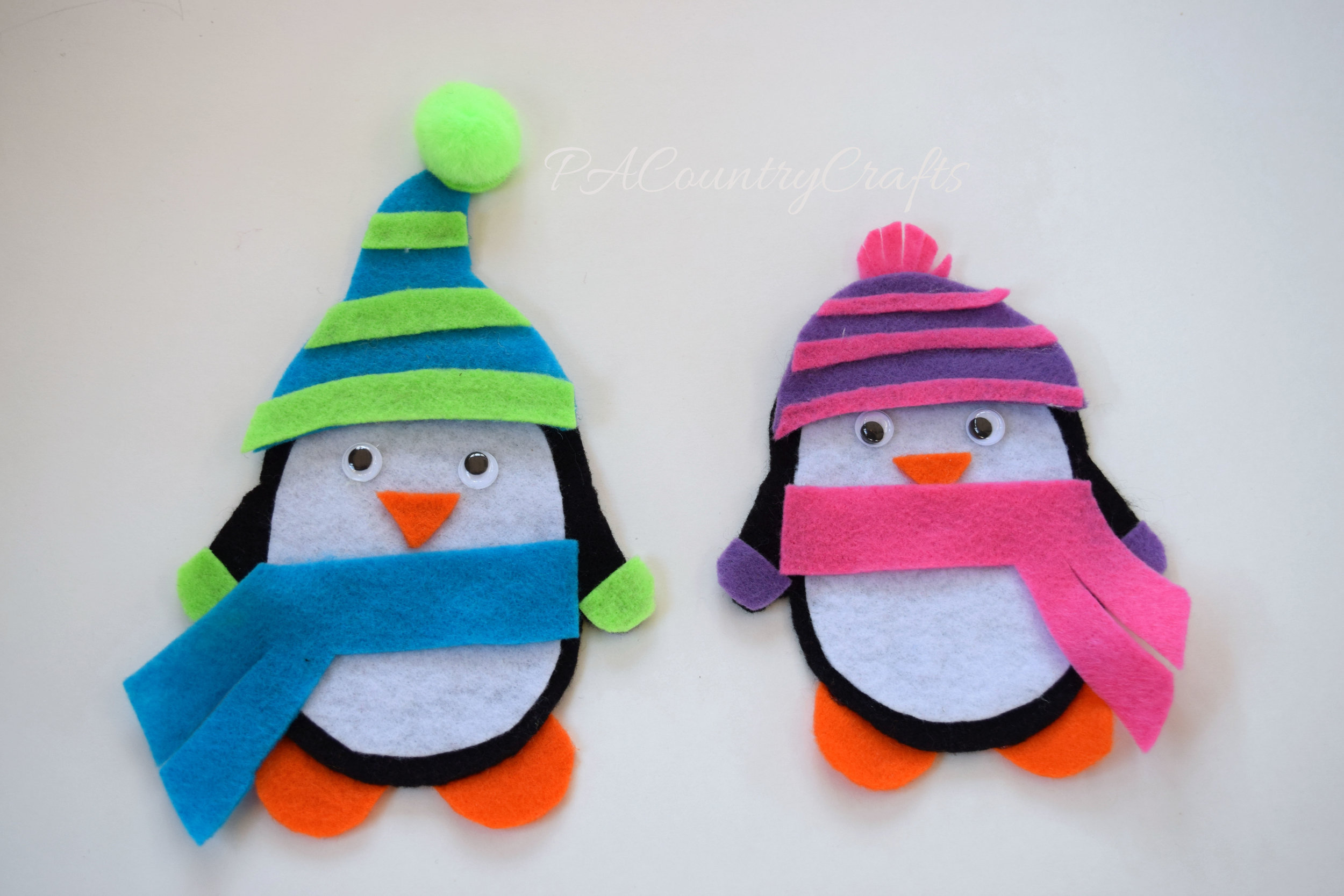 Try this easy toddler felt penguin busy bag!