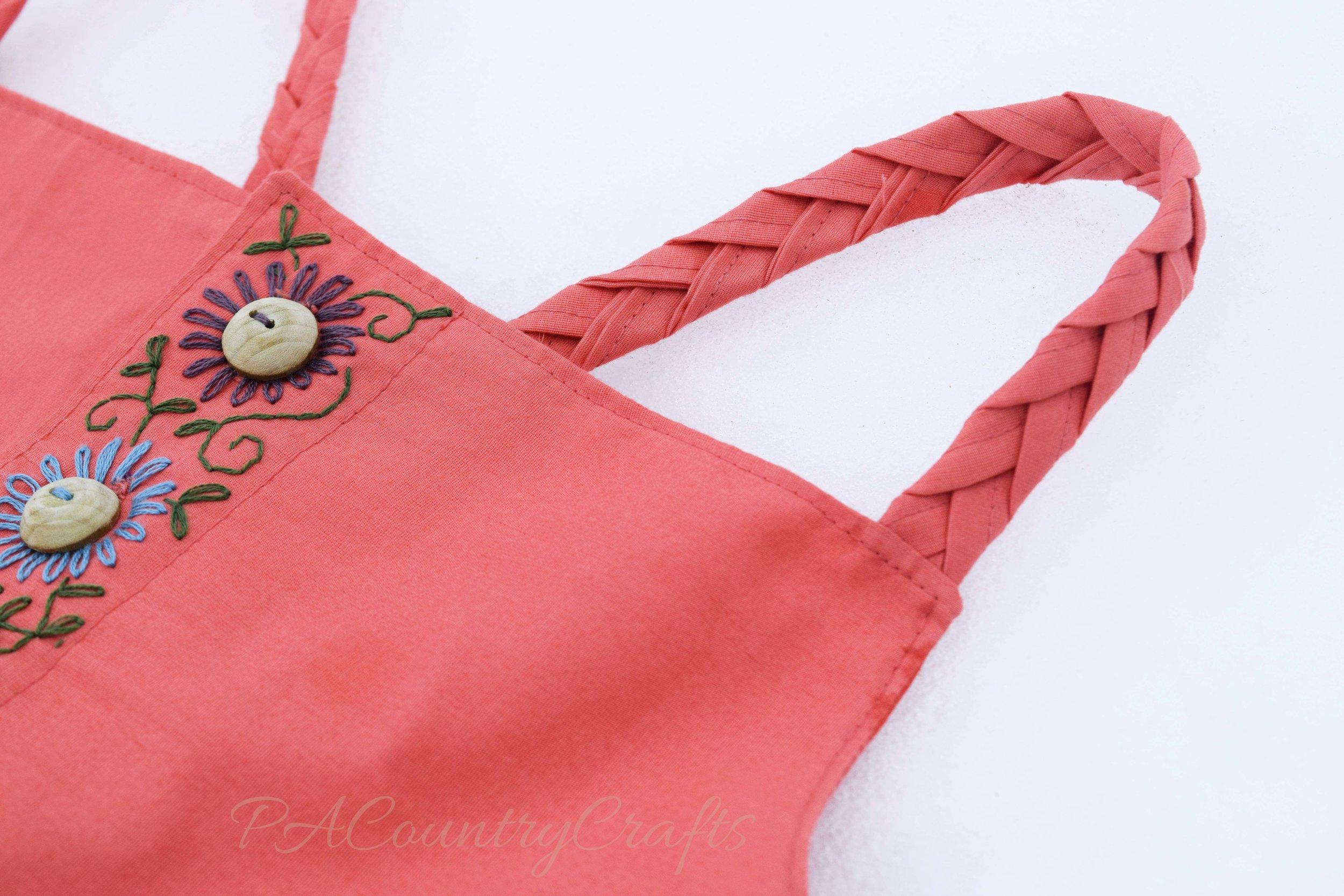 braided straps