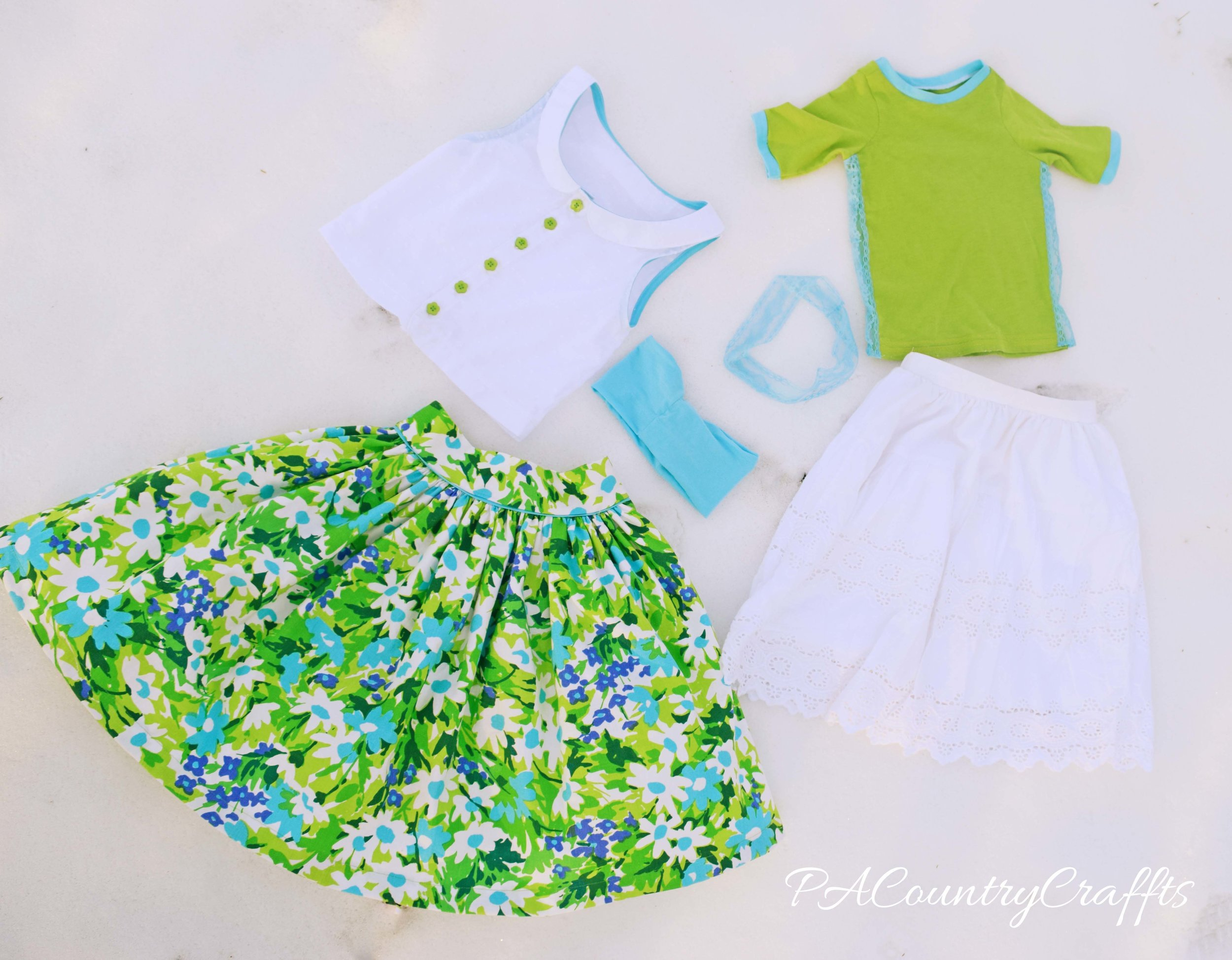 greenery project run and play week 2 outfits